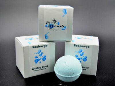 F-Bomb, bath bomb, lush, foaming bath bomb